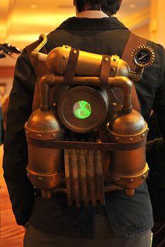 Steampunk Backpack Generator