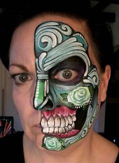 Ronnie Mena style skull