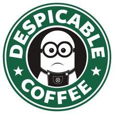 OMG.I jus found it!Its so cute.Minion starbucks *________* #despicable coffee ♥♥♥