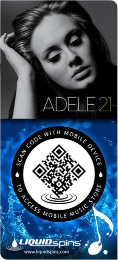Adele - 21 - Liquid Spins spincode