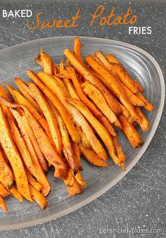Quick & Easy Baked Sweet Potato Fries