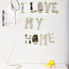 Un masking-tape pour personnaliser sa décoration #IKEA #ikea2015