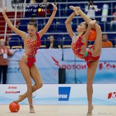 Arina AVERINA (Russia) ~ Ball @ World Challenge Cup Kazan❤️❤️.  Photo by Shanek_com.
