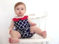 Check out this item in my Etsy shop https://www.etsy.com/listing/218930603/peter-pan-collar-romper-red-white-and