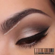 """""""Hello beauties!! This is my updated #Naked smokey eye using the original naked palette. It's still my fave over the 2 & 3 because it features lots of…"""""""