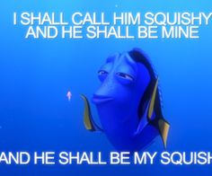 Oh Dory.
