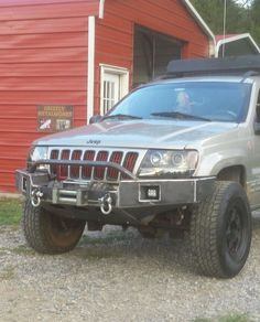 Jeep Grand Cherokee 2 Inch Lift With 40 Quot Led Light Bar