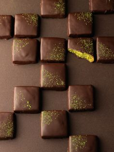 Matcha and Chocolate Shortbread | The Guardian UK