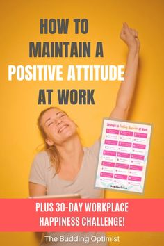 Find out why a positive attitude is key to your success, the benefits of a positive attitude at work, plus 7 tips to help you be more positive at work. Positive Outlook, Positive Mindset, Positive Attitude, Attitude Quotes, Peace Quotes, Quotes Quotes, Positive Work Environment, Happiness Challenge, Self Development