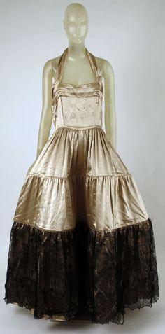 1938 evening dress