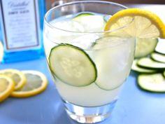 Gin Cooler. I'll use liquid stevia instead of sugar to decrease calories.