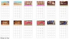 Design by Suzi: DIY kalendár do diára Diy Calendar, Holiday Decor, Design, Home Decor, Home Interior Design, Decoration Home, Home Decoration