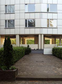 alvar aalto, hansaviertel housing, berlin 1955-1957