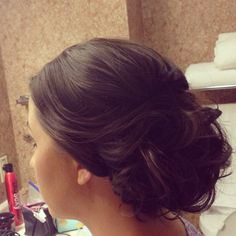 updo, wedding hair, wedding updo, romantic updo, beautiful hair
