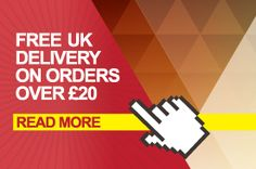 FREE Deliveries on orders over 20 pounds