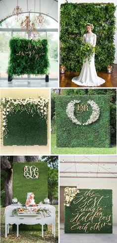 Zielona ściana - Ściana ze świeżych kwiatów lub ziół