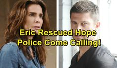 Days of Our Lives Spoilers: Eric Brings Hope to His Farmhouse, Hides Her from Cops | Celeb Dirty Laundry