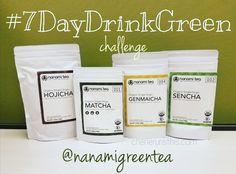 Nanami Green Tea #7DayDrinkGreen Challenge!