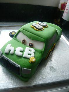 Chick hicks disney cars cake