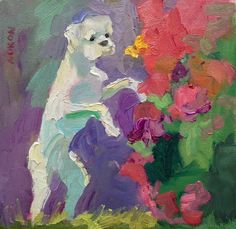 Larisa Aukon. Boxer and the Butterfly