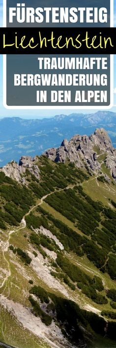 Fürstensteig Liechtenstein: Traumhafte Bergwanderung in den Alpen