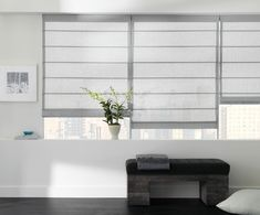 8 Cheap And Easy Cool Ideas: Diy Blinds No Sew bedroom blinds country.Fabric Blinds Little Green Notebook wooden blinds modern. Modern Interior Decor, Living Room Blinds, Blinds Design, Modern Windows, Modern Window Shades, Bedroom Blinds, Modern Window Coverings, Cool Curtains, Diy Blinds