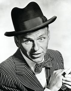 """Ol' Blue Eyes (Sinatra) """"Polka dots. In the whole world, only Nathan Detroit could blow a thousand bucks on polka dots."""""""