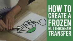 Have you ever wondered how to get an image on your cake top? A Frozen Buttercream Transfer is an easy method of transferring your art to a frosted cake, with...