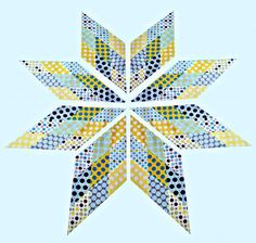 Scrappy Lone Star Quilt Tutorial: Part 1.  Flummoxed me looking at it.  But tutorial lays it out so well.
