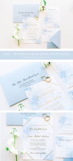 Boho Wedding Invitations, Romantic - perfect for a destination or beach wedding! Order a sample today.
