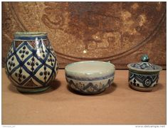 Céramiques Marocaines Anciennes Maroc Atelier Lamali Safi Moroccan Pottery Middle Eastern