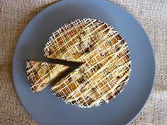 Marzipan,rhubarb n white chocolate cake White Chocolate Cake, Marzipan, Goodies, Treats, Snacks, Fruit, Sweet, Desserts, Slik