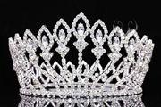Kroon, miss, misverkiezing, bruid. http://www.mylemony.nl/product/1530442/tiara660-hoge-missverkiezingskroon