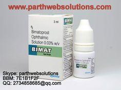 Bimatoprost Y Latanoprost Eye Lashes