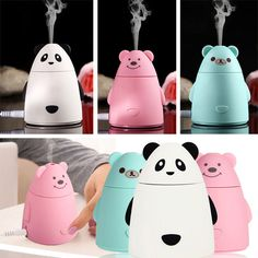 Cute Mini USB Humidifier Air Purifier Aroma Diffuser Atomizer Office Home Gift in Home & Garden, Home Improvement, Heating, Cooling & Air   eBay