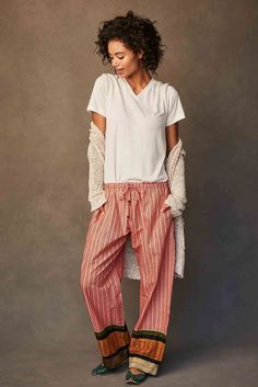 The Yagi-print Punjammies® are ethically-made loungewear with streams of a  herringbone 417be5bed