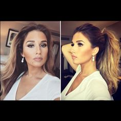 Jessie James Decker, so envious of her hair. Even if she admitted its clip in extensions...