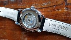 Christopher Ward C9 Jumping Hour Watch - Caseback and Strap - Photo by…