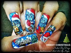 love from me to you by priyaa - Nail Art Gallery nailartgallery.nailsmag.com by Nails Magazine www.nailsmag.com #nailart
