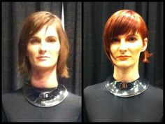 Before & After Rocco Donna Artistic Team ISSE 2012 - Long Beach, CA — with Leonardo Rocco, Jeremy Carta and Regina Marie Martinez #Hairstyle #Hair #Hair Style #Fashion #Beauty #Miami #Miami Beach #Leonardo Rocco #Rocco Donna #Salon