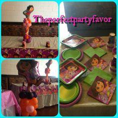 Dora set-up