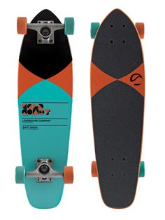 GoldCoast Long Boards - The Pier Orange