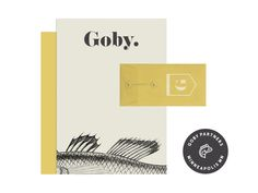 Goby   Branding Assets   Fivestar Branding – Design and Branding Agency & Inspiration Gallery