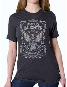 'Proud Daughter' Unisex T-Shirt (Organic Cotton)