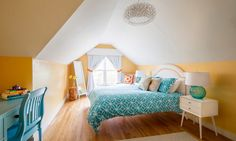 Decorating Tips For An Attic Bedroom Check more at http://www.wearefound.com/decorating-tips-for-an-attic-bedroom/