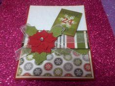 tarjeta de navidad costo : 3 soles