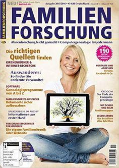 Familienforschung: Ahnenforschung leicht gemacht - Computergenealogie für jedermann: Amazon.de: Verein für Computergenealogie und Pferdesport Verlag Ehlers GmbH: Bücher