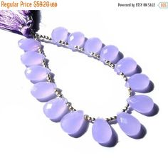 55% OFF SALE 8 Inches   AAA Lilac by GemsAndBeadsEmporium on Etsy