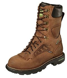 Men's 10 inch Waterproof Breathable Wood 'N' Stream ELX LTT VGS 200 - gram Thinsulate Insulation Boots Brown, BRN CRAZYHORSE, 8.5W(EE) * Read more reviews of the product by visiting the link on the image.