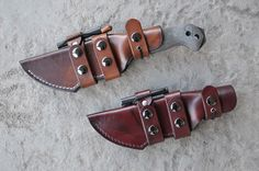 Skystorm Leather BK-2 Horizontal Scout Sheath #1